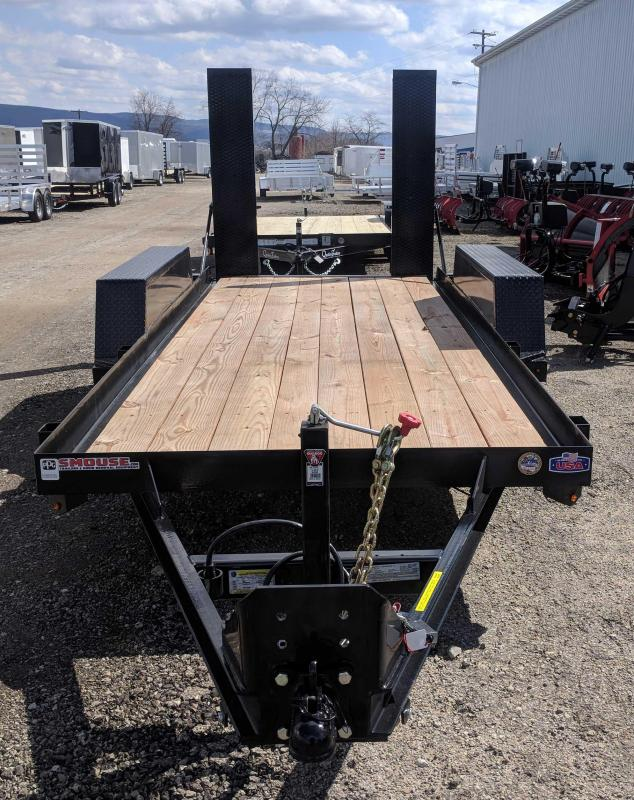 NEW 2018 Cam 14' SCOUT Equipment Trailer w/Stand Up Ramps