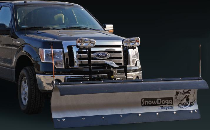 "NEW SnowDogg 6'8"" MD Stainless Steel Snow Plow"