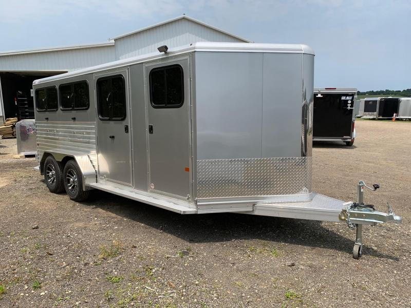 NEW 2019 Frontier Livestock Low Pro 7x16 (6 Pen) w/ DROP DOWN WINDOWS-GREAT FOR PIGS/GOATS & SHEEP!