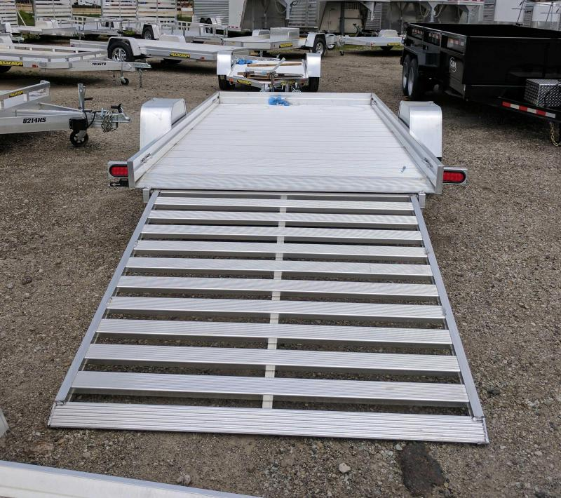 NEW 2019 Aluma  6X12 HD Utility Trailer w/ Slide out Ramps