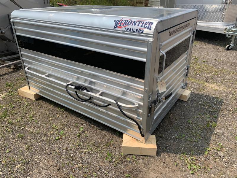 NEW 2019 Frontier 6' Aluminum Small Livestock Topper w/ Verticle Center Divider