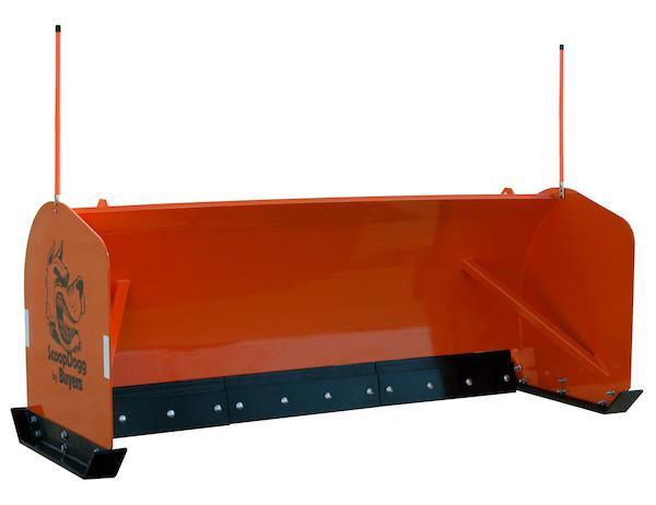 NEW ScoopDogg 8' Skid Steer Pusher w/ Trip Edge- 1 LEFT IN STOCK