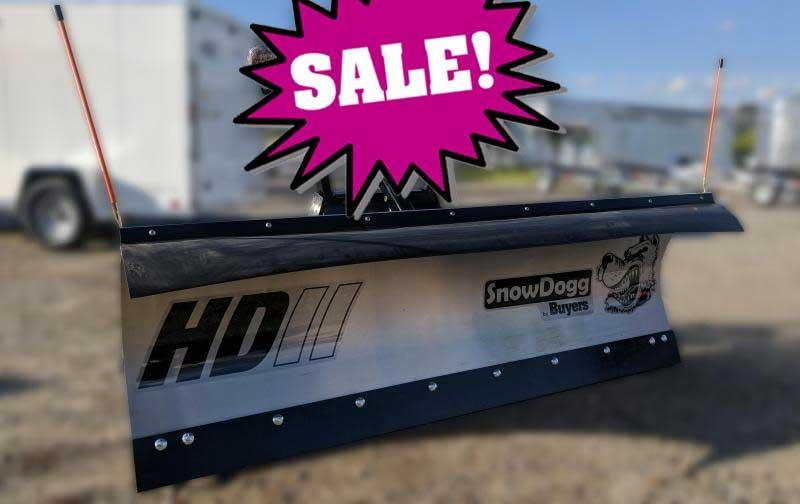SALE!!! NEW SnowDogg 7.5' II HD Stainless Steel Snow Plow- 1 LEFT IN STOCK