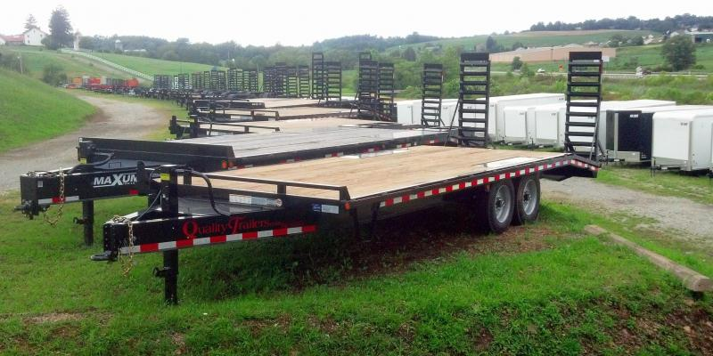 NEW 2018 Quality 18+5 HD PRO Deckover Tagalong Trailer w/Stand-Up Ramps