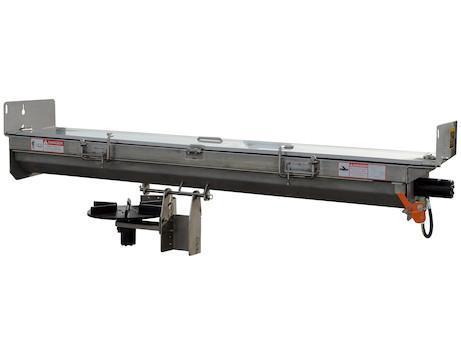 """NEW Saltdogg 96"""" Hydraulic Under Tailgate Stainless Steel Spreader - Center Discharge"""