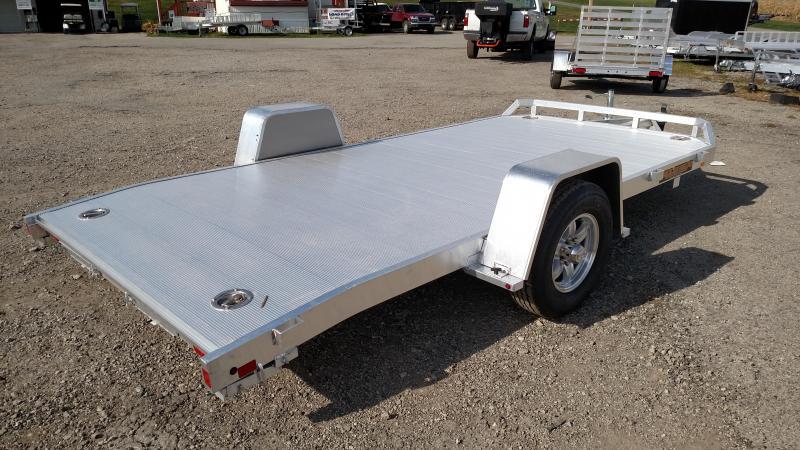 "NEW 2019 Aluma 6'10"" X 14' Heavy Single Axle Aluminum Utility Trailer w/ Dove Tail"