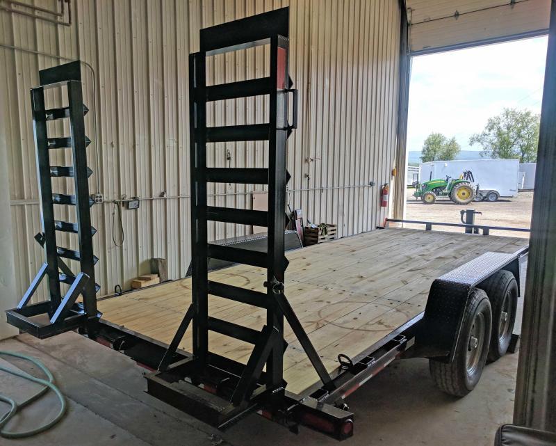 NEW 2020 Quality 18' PRO Equipment Hauler (No Dove)