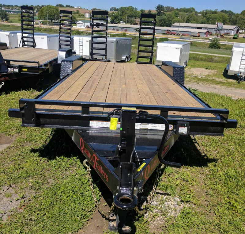 NEW 2018 Quality 20' HD PRO Equipment Hauler w/Spring Assist Ramps
