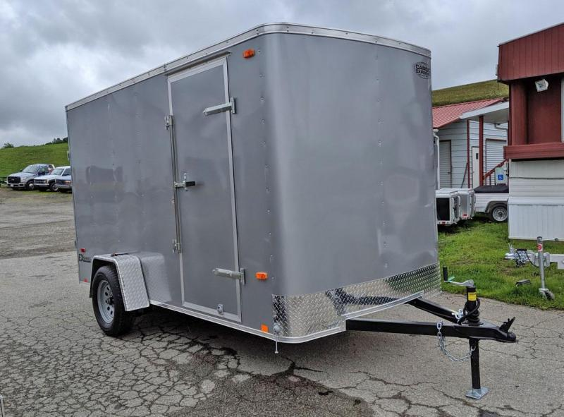 NEW 2020 Cargo Express 6x12 EX Cargo Trailer w/ Rear Ramp Door