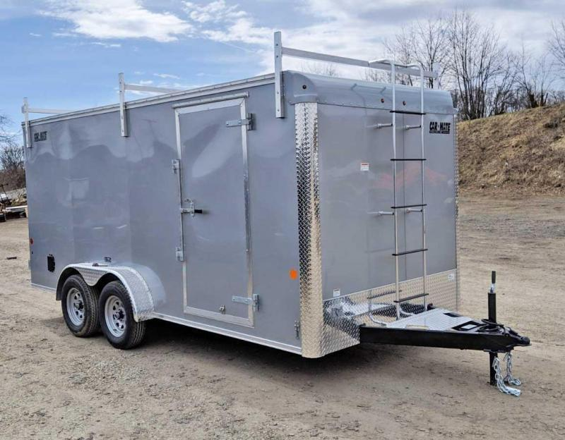 NEW 2019 Car Mate 7x16 HD Custom Contractor Trailer  w/ REAR RAMP DOOR in Ashburn, VA