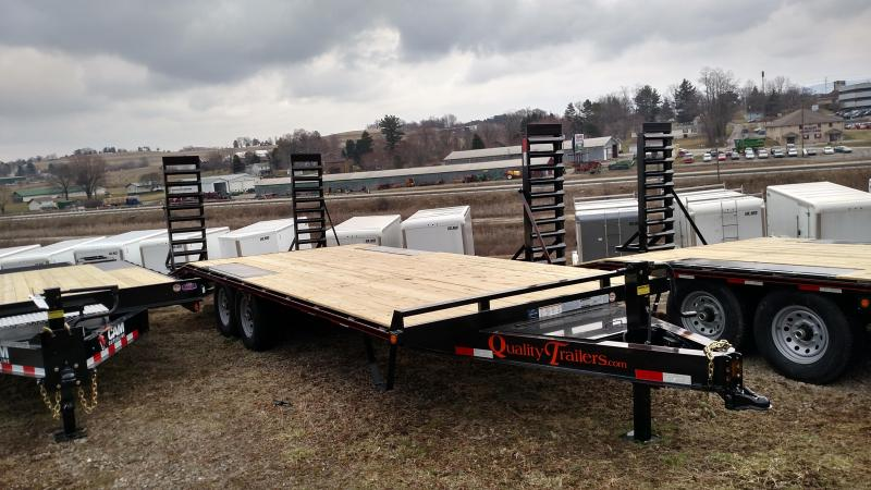 NEW 2018 Quality 18+4 HD Gen Duty Deckover Tagalong Trailer w/Spring Assist Ramps