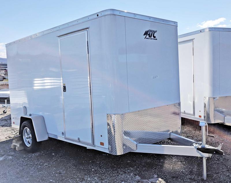 "NEW 2018 ATC 6X12 ""RAVEN"" Aluminum Cargo Trailer w/ Ramp"