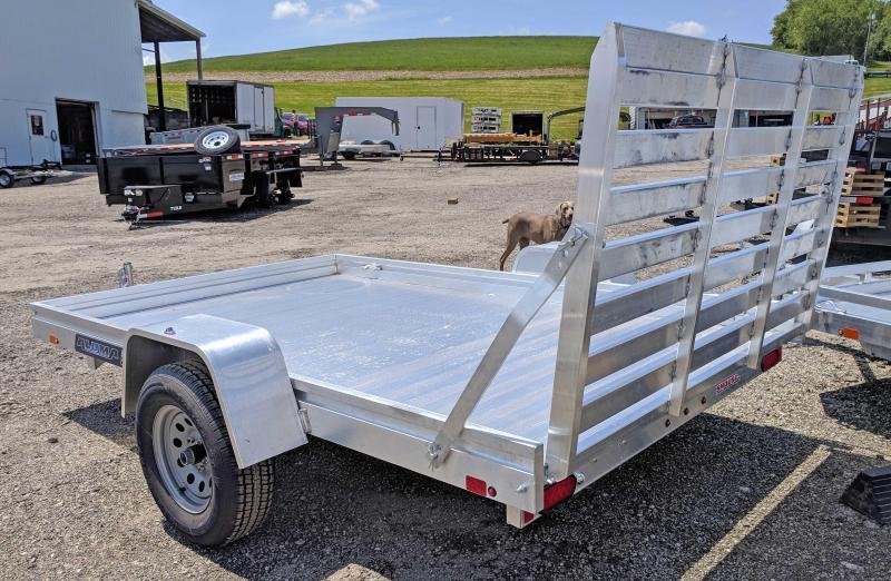 "NEW 2019 Aluma 6'6"" x 10' ES Utility Trailer w/Aluminum Floor"