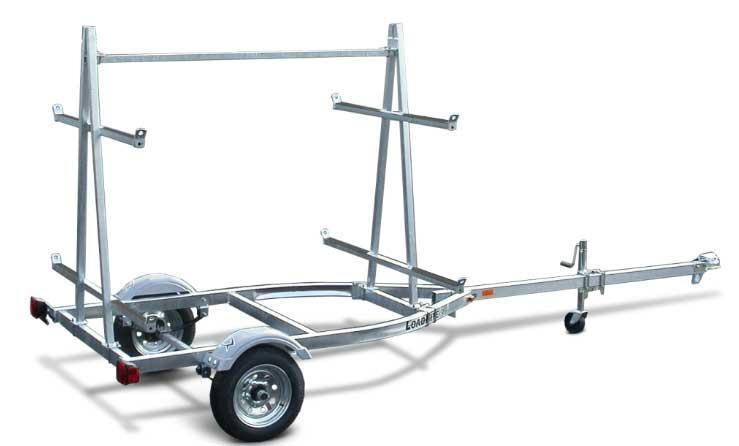 NEW 2020 Load Rite (4 Place) Kayak Trailer