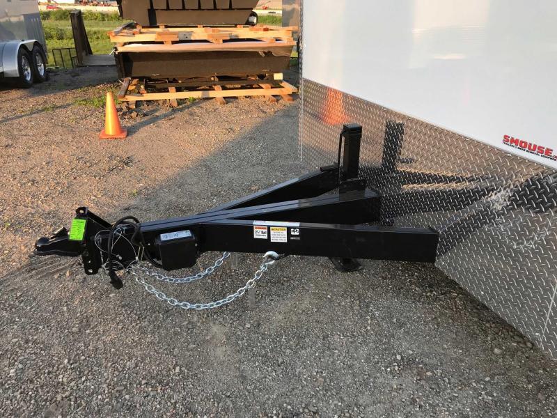 NEW 2018 Car Mate 8x18 HD Custom Car Hauler w/ Ramp Door (LANDSCAPE PACKAGE)