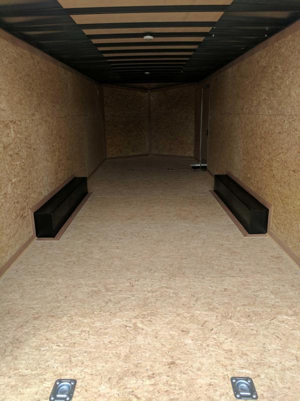 NEW 2020 Cargo Express 8.5 x 24 XLW Sloped V-Nose Car Hauler