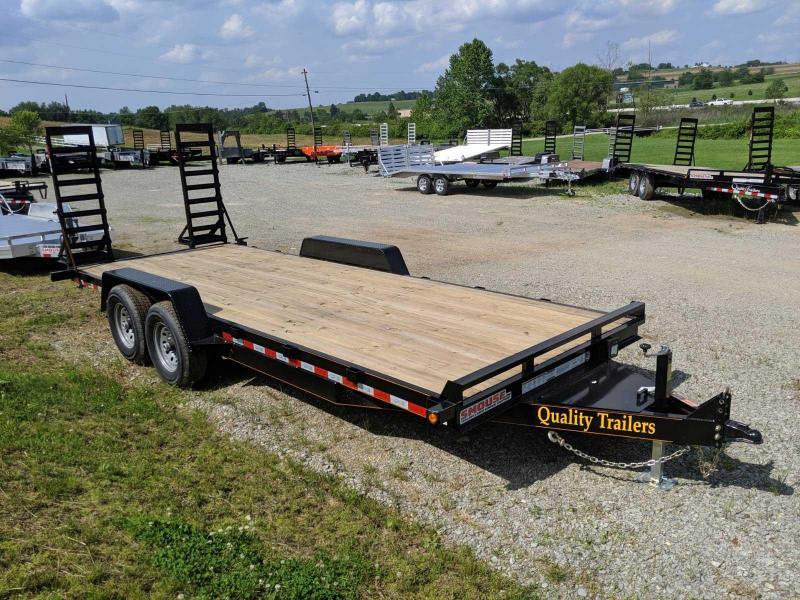 NEW 2019 Quality 20' HD General Duty Equipment Hauler w/ Spring Assist Ramps in Ashburn, VA