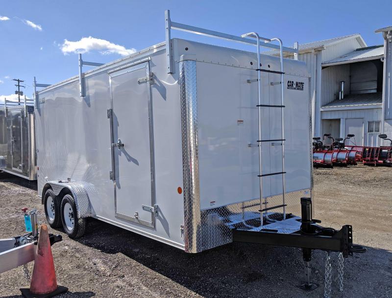 NEW 2018 Car Mate 7X16 HD Contractor Cargo w/Ramp