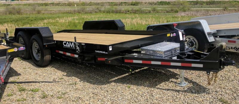 NEW 2019 CAM 18' Lo Pro Full Tilt Equipment Trailer (16100# GVW) in Ashburn, VA