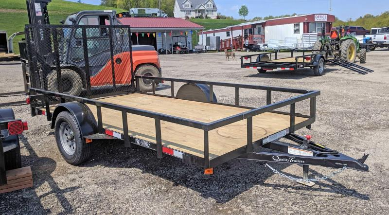 NEW 2019  6 X 12 PRO  Quality Utility Trailer w/ Spring Assistance / Lay Flat Gate
