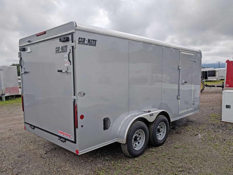 NEW 2019 Car Mate 7X16 HD Custom Cargo Trailer w/ Ramp
