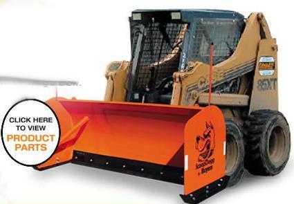 NEW ScoopDogg 8' Skid Steer Pusher- 1 LEFT IN STOCK