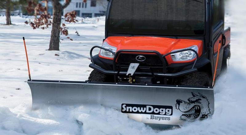 (1 LEFT!) NEW SnowDogg 6.5' UTV Stainless Steel Snow Plow