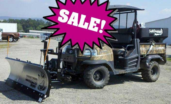 CALL FOR SALE PRICE!! NEW SnowDogg 6.5' UTV Stainless Steel Snow Plow-1 LEFT IN STOCK