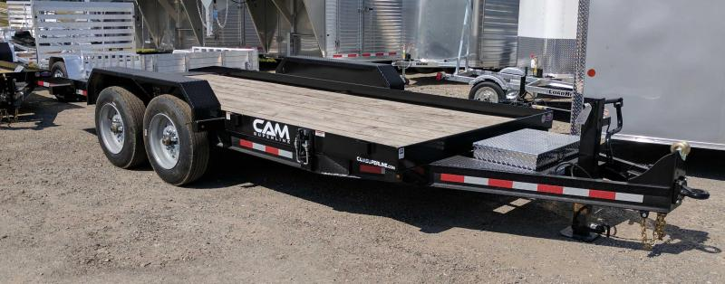 NEW 2019 Cam 20' HD Lo Pro Power Tilt Trailer