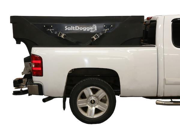 NEWLY DESIGNED SALTDOGG 2.0 Cu. Yd. Poly Hopper Salt Spreader w/ Standard Chute