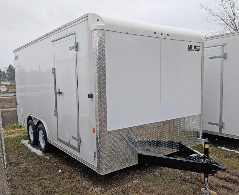 NEW 2018 Car Mate 8X16 HD Custom Cargo Trailer w/ Barn Doors
