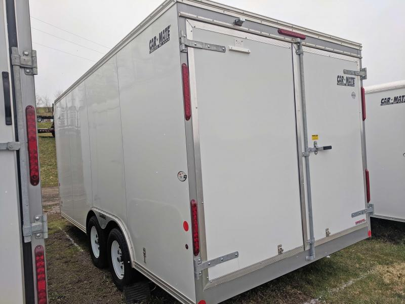 NEW 2018 Car Mate 8X16 HD Custom Cargo Trailer w/ Barn Doors