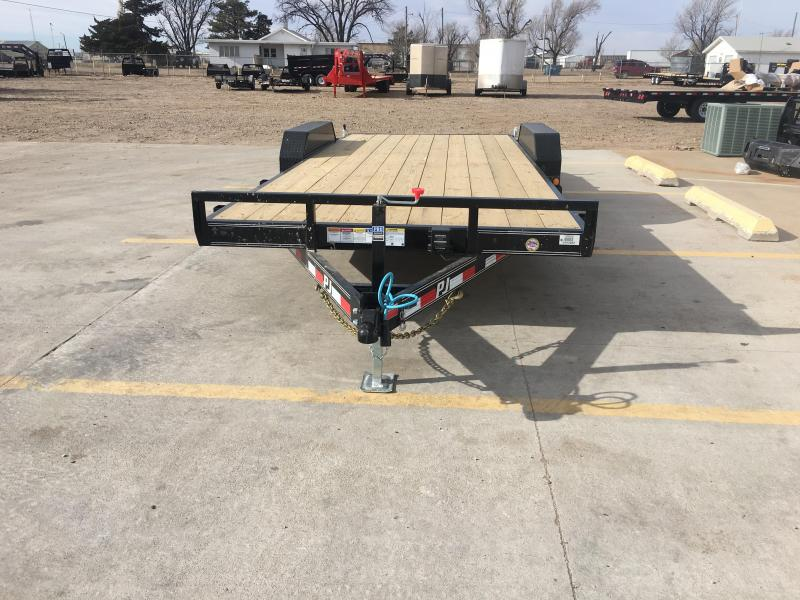 "2019 PJ 20"" x 83"" with 5"" Channel Equpment Trailer"