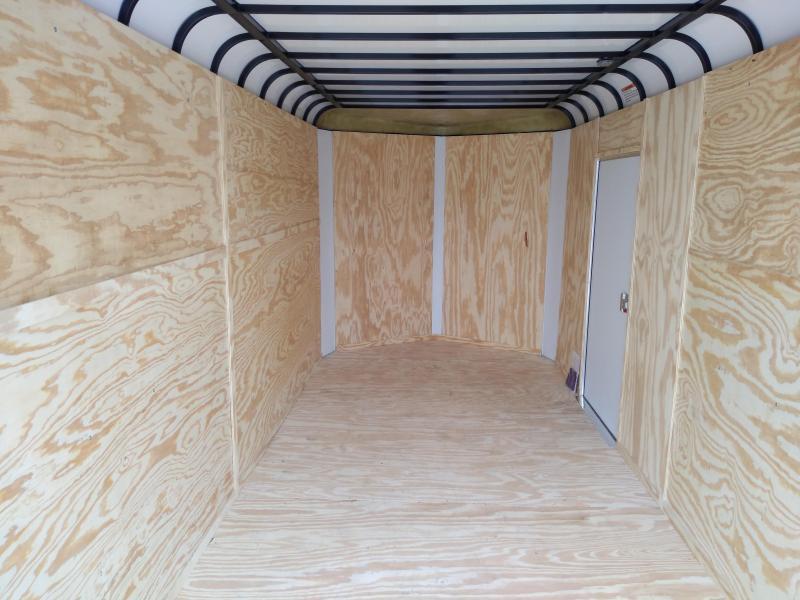 2019 Sharp V-Nose 7' X 16' Enclosed Cargo Trailer