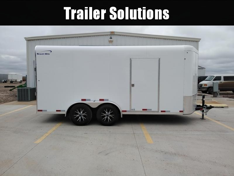 2019 Sharp V-Nose 7' X 16' Enclosed Cargo Trailer