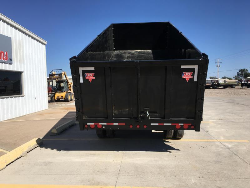 "2019 PJ 20' x 102"" Tandem Dual Dump Trailer"