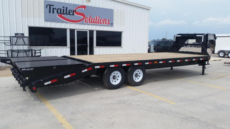 "2019 PJ 25' x 102"" Classic Flat Deck Trailer with Singles"