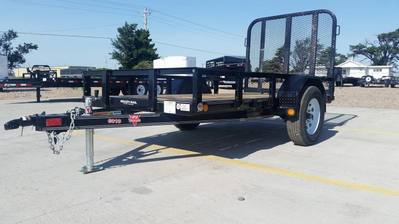 "2019 PJ 10' x 60"" Single Axle Utility Trailer"