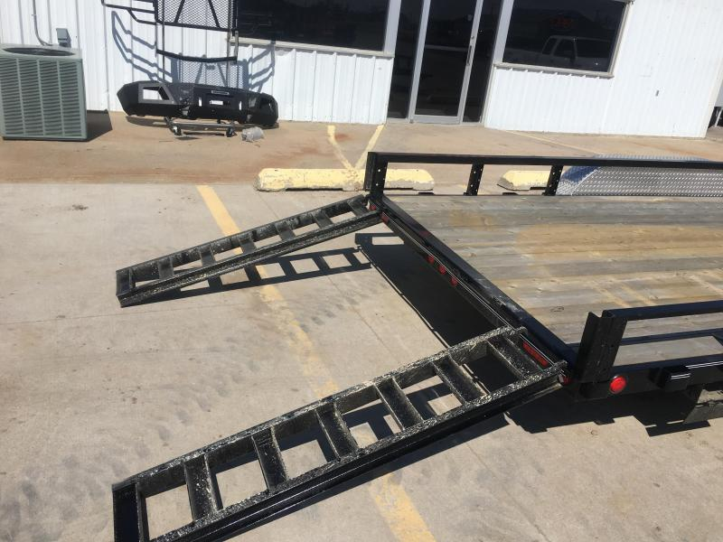 "2019 PJ 20' x 83"" Tandem Axle Channel Utility Trailer"