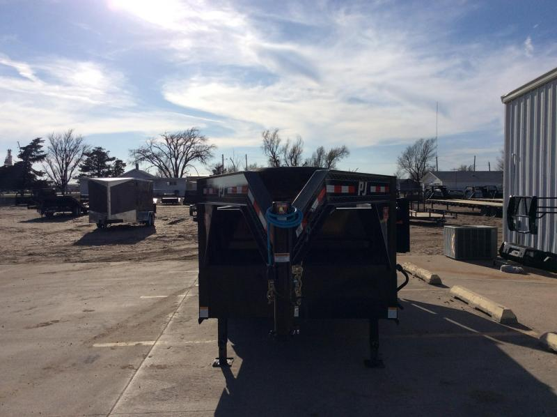 """2020 PJ 14' x 83"""" Low Pro High Side Dump Trailer"""