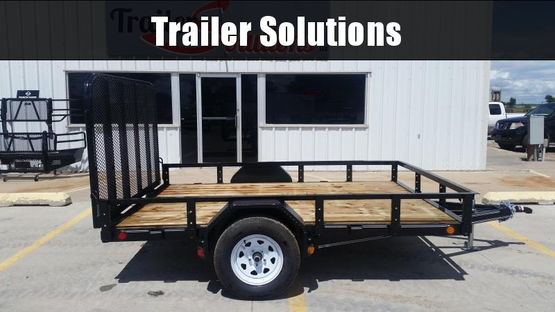 "2019 PJ 10'x83"" Single Axle Utility Trailer"