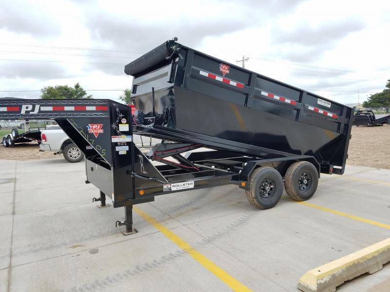 "2020 PJ GN 14' x 83"" Roll Off Dump Trailer"