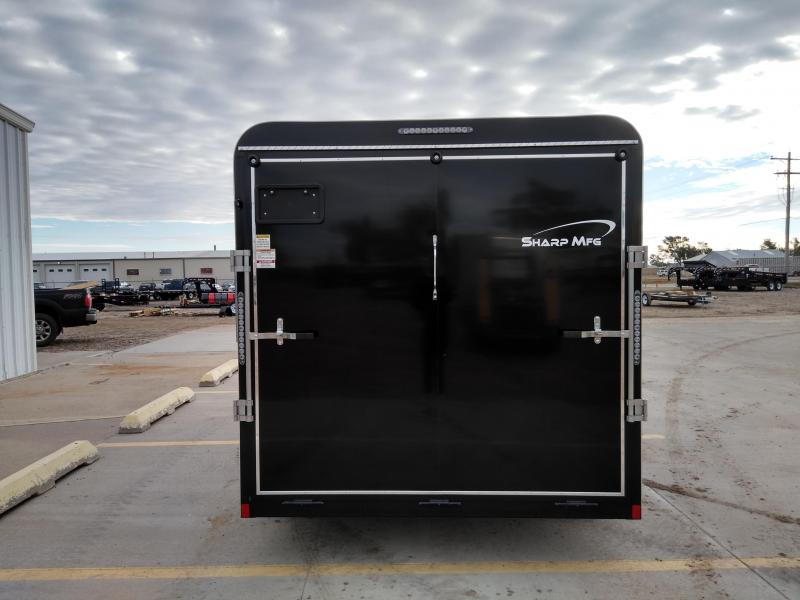 2019 Sharp 7 x 14 Tandem AxleEnclosed Trailer