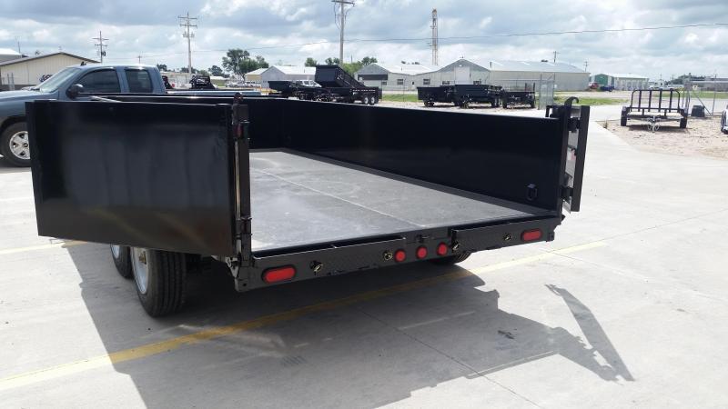 "2019 PJ 14' x 83"" Low Pro Dump Trailer (8000 Axles)"