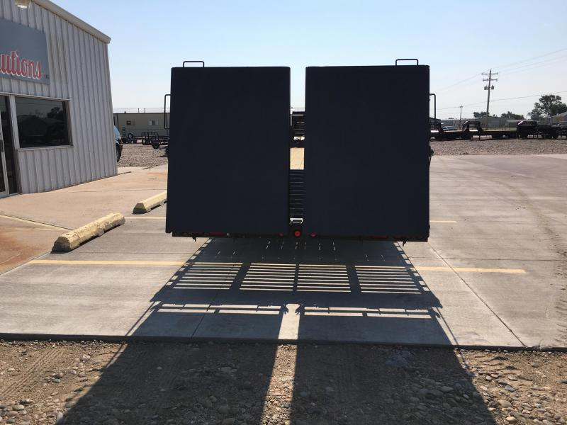 2019 PJ Trailers Classic Flatdeck with Duals (FD) Flatbed Trailer