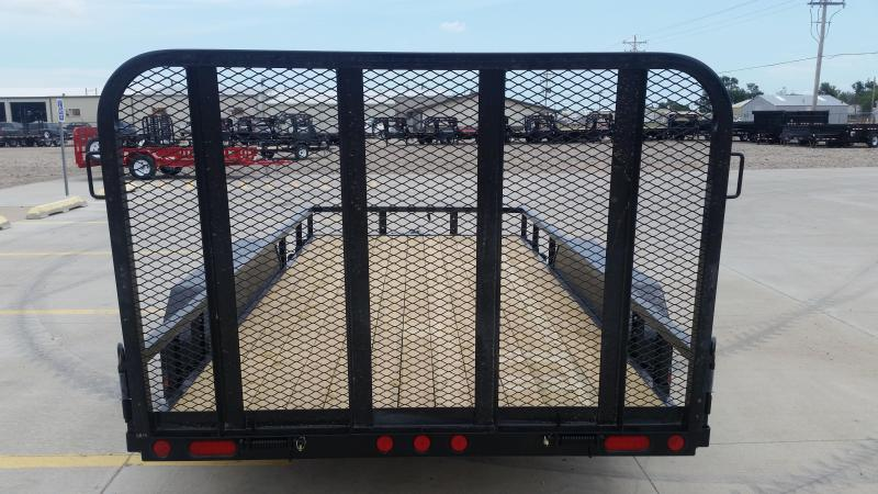 "2019 PJ 14' x 77"" Tandem Axle Channel Utility Trailer"