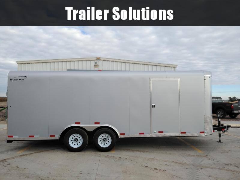2019 Sharp 101 x 20 Tandem Axle Trailer