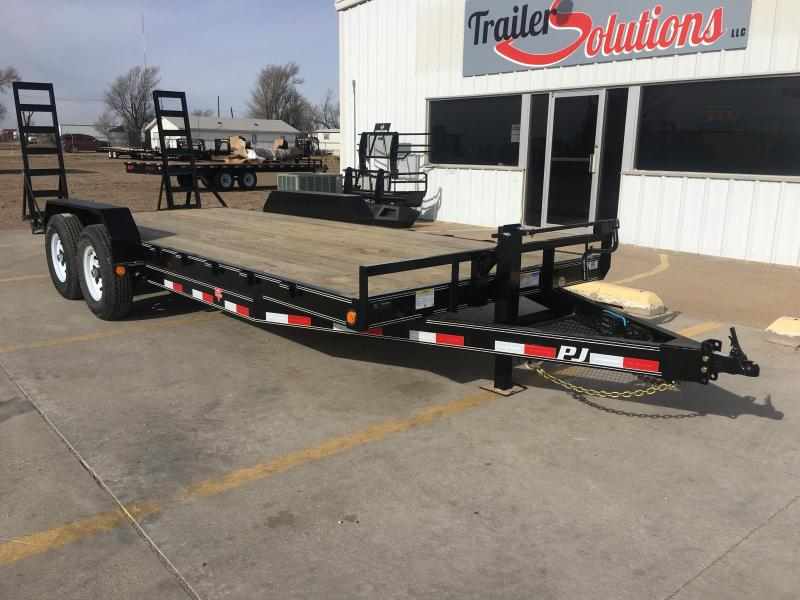 "2020 PJ 20' x 83"" 6"" Channel Equipment Trailer"