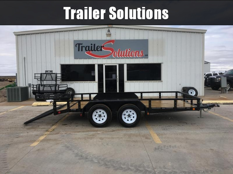 "2019 PJ 14' x 83"" Tandem Axle Channel Utility Trailer"