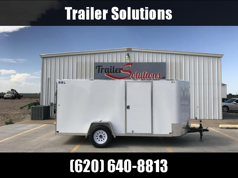 2018 Sharp SEL 6' x 12' Enclosed Trailer